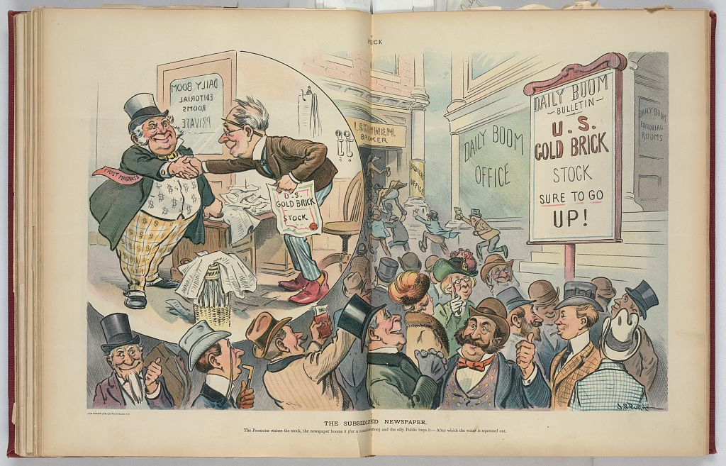 The subsidized newspaper, J.S. Pughe, 1902.