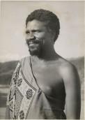 Retrat de Sobhuza II, 1945. The National Archives UK