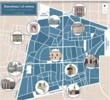 Barcelona i el correu. Una passejada per la història postal i filatèlica.
