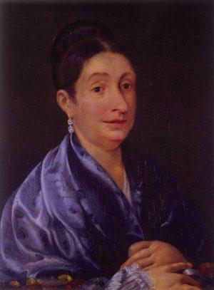 Josefa Ortiz de Domínguez, oli sobre tela, 1807. Museo Nacional de Historia.