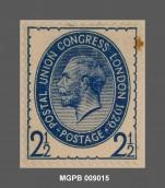 2 1/2 penics Jordi V del Regne Unit. MGPB 009015