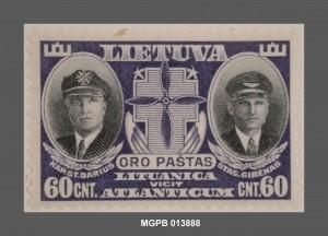 Steponas Darius i Stasys Girenas, Lituània, 1934. Col·lecció Marull