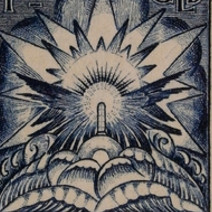 1,50 florines Caja fuerte llena de cartas procedente de un naufragio, 1921. Col·lecció Ramon Marull
