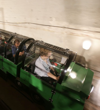 El tren subterrani que transportava el correu postal de Londres reobre les seves portes