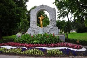 Estàtua de Johann Strauss, Viena. Font: all-free-photos.com