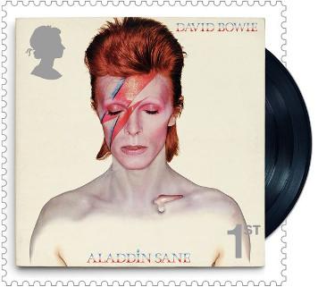 David Bowie, els segells de l'espai