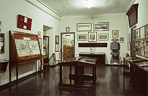 Sala d'exposicions del MGPB al Palau de la Virreina, abril de 1987. Font: AFB, F1_81_10_17. Autor desconegut