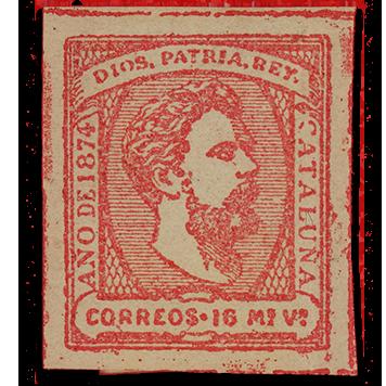 The Carlist Stamp of Catalunya