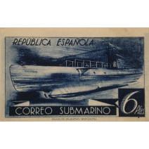 Submarí A-1. Col·lecció filatèlica Ramon Marull, MGPB006950