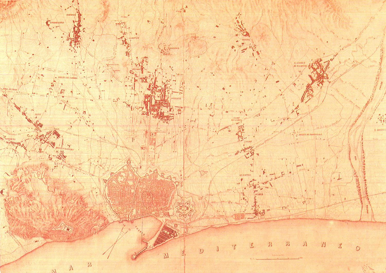 Plànol topogràfic ( 1856)