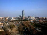 Vista panoràmica del 22@ i de la Torre Agbar