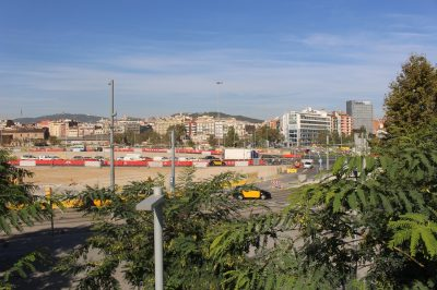 Obras de la urbanización provisional