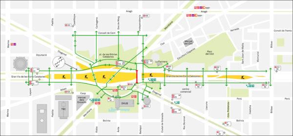 Vianants i Transport Públic. Febrer 2020