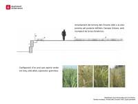 Imatge virtual de la urbanització provisional banda muntanya