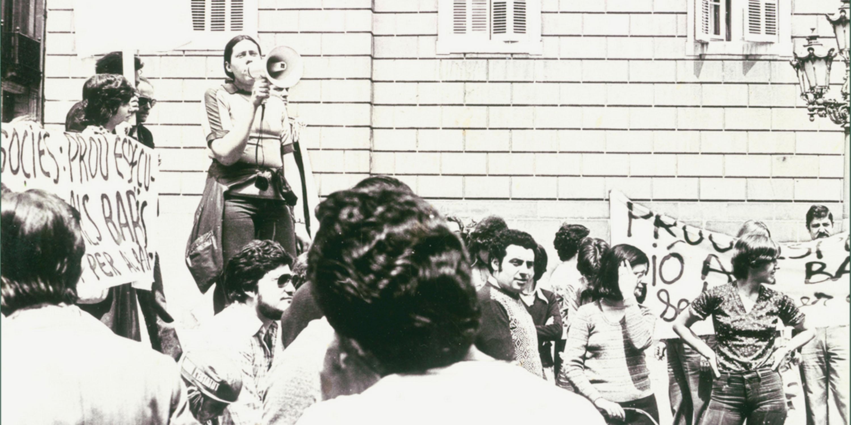La reivindicació veïnal de La Sedeta va arribar a la plaça de Sant Jaume, davant de l'Ajuntament de Barcelona, durant els mandats de Joaquim Viola i Josep Maria Socias, qui va aprovar la compra del solar. Any 1976