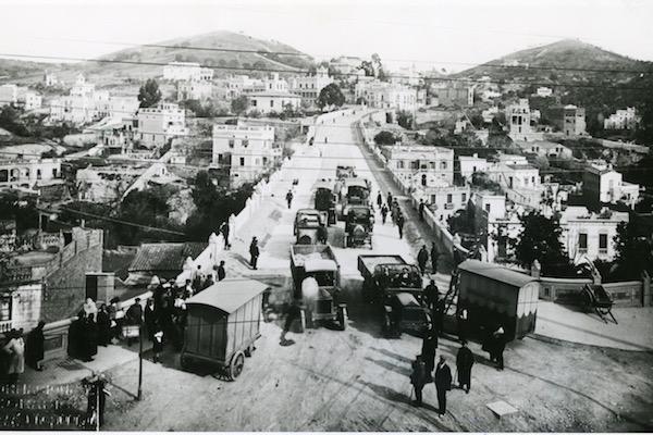 Puente de Vallcarca. 1915