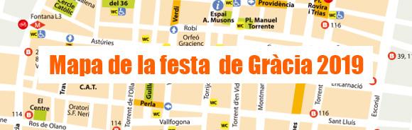 Mapa de la festa
