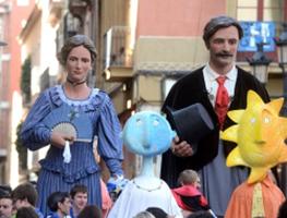 Cercavila de cultura popular de la Festa Major de Gràcia