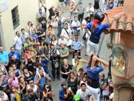 Ofrena a Sant Roc de la Festa Major de Gràcia