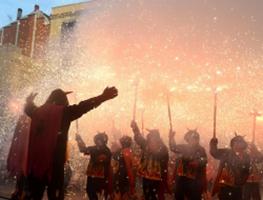 Correfoc infantil de la Festa Major de Gràcia