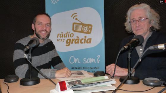 Folk a Ràdio Gràcia - Òscar Mejías