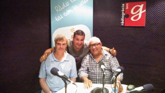 Carles Salat, Sicus Carbonell i Jerry Medina