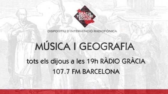 Música i geografia - Gràcia Territori Sonor
