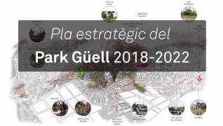 Pla estratègic del Park Güell 2018-2022