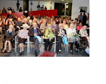 Celebració Avis i Àvies Centenàries 2014