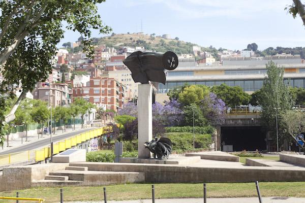 El monument a les Brigades Internacionals