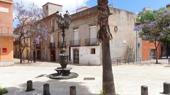 Plaza de las Santes Creus