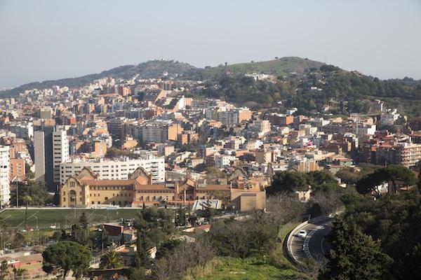Panorámica del barrio de la Teixonera