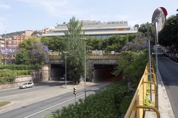 El túnel de la Rovira