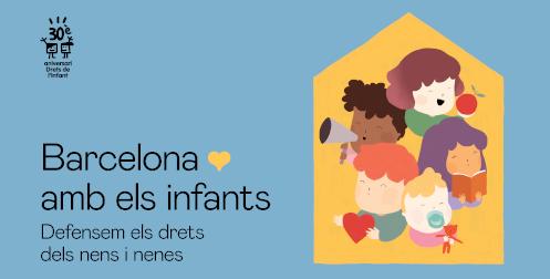 Barcelona amb els infants