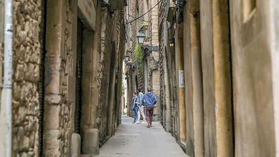 Imatge del carrer de Salomó ben Adret
