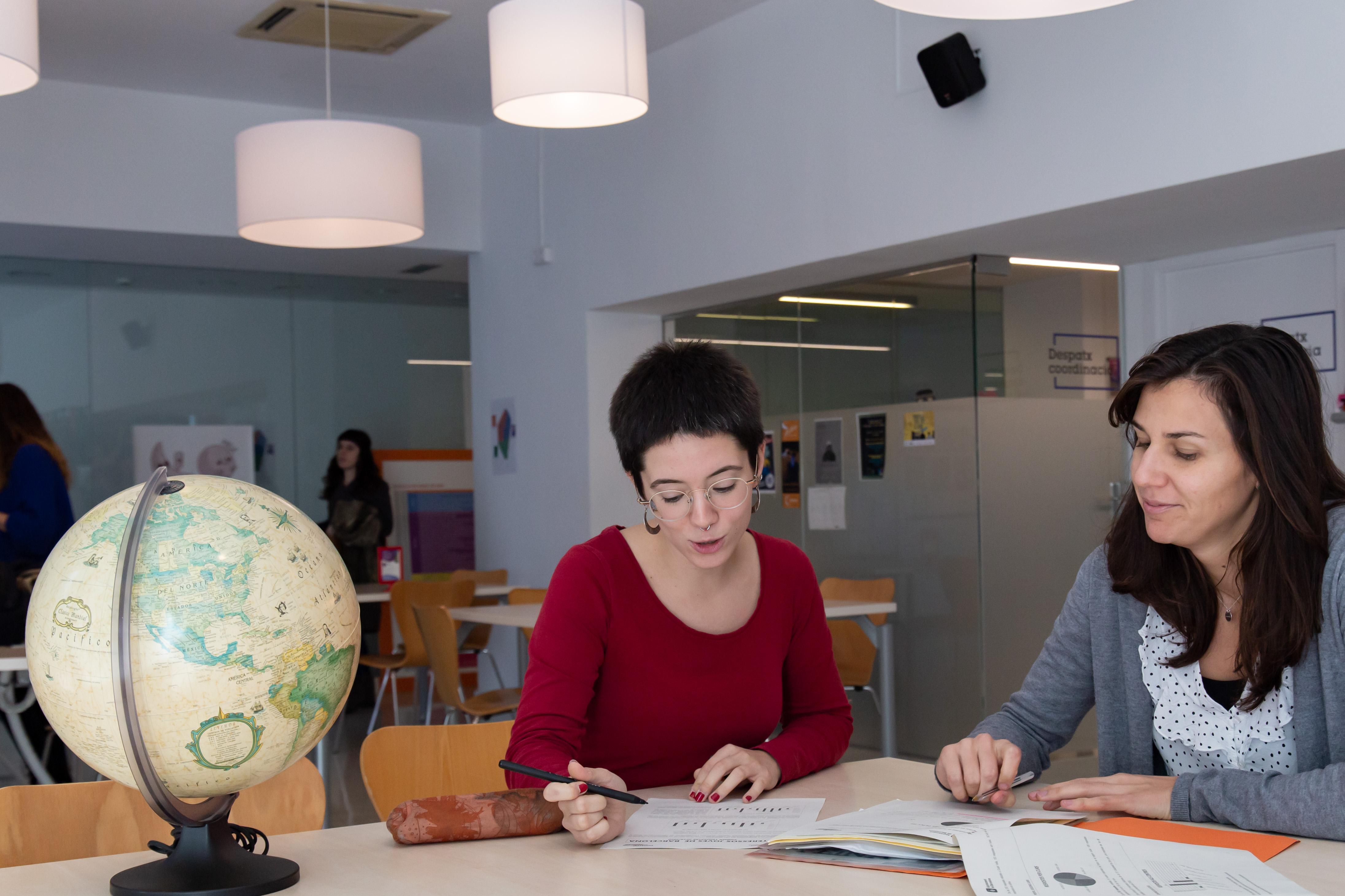 Assessoria de mobilitat internacional per a joves