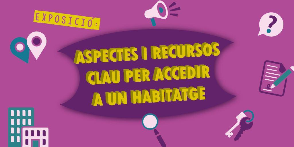 Banner Exposicion Aspectos y recursos clave para acceder a una vivienda