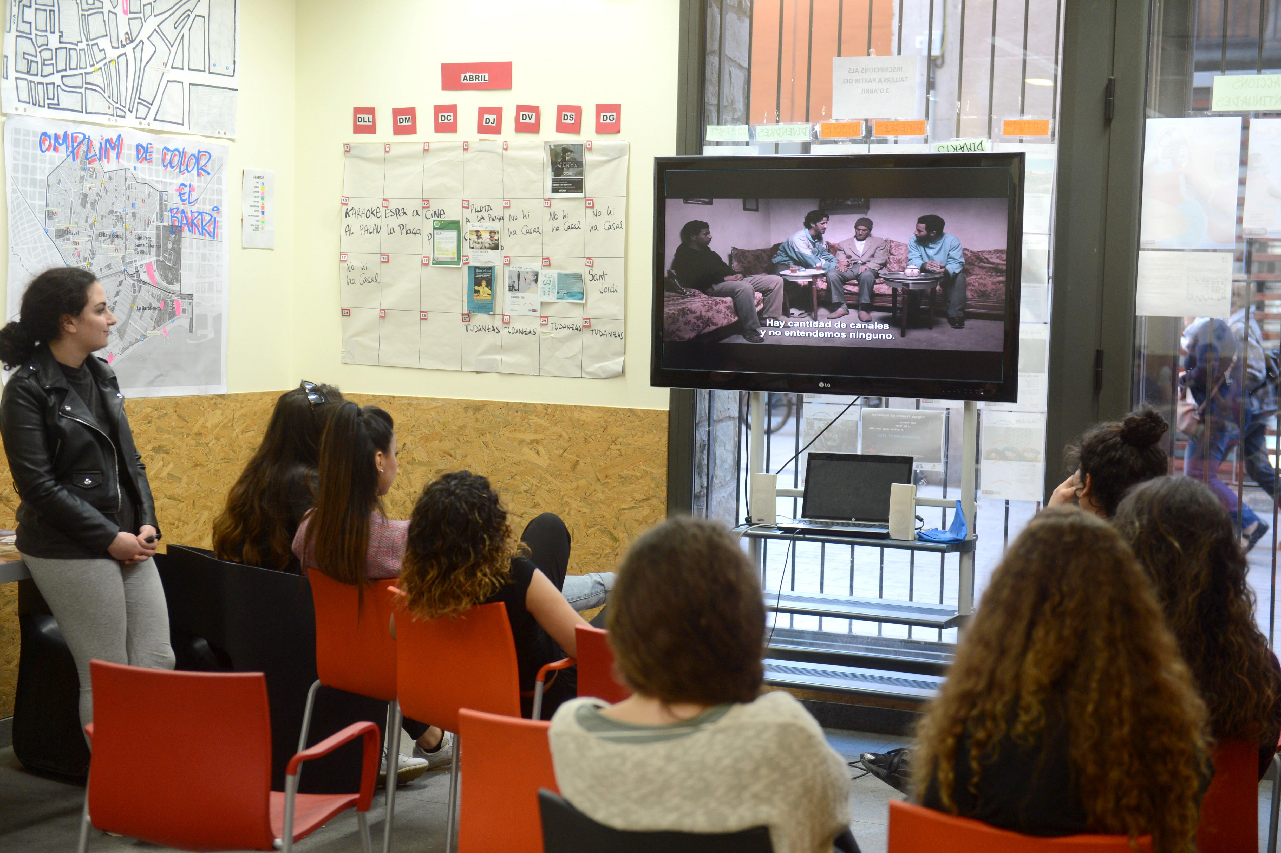 Espacio joven Palau Alòs Audiovisuales