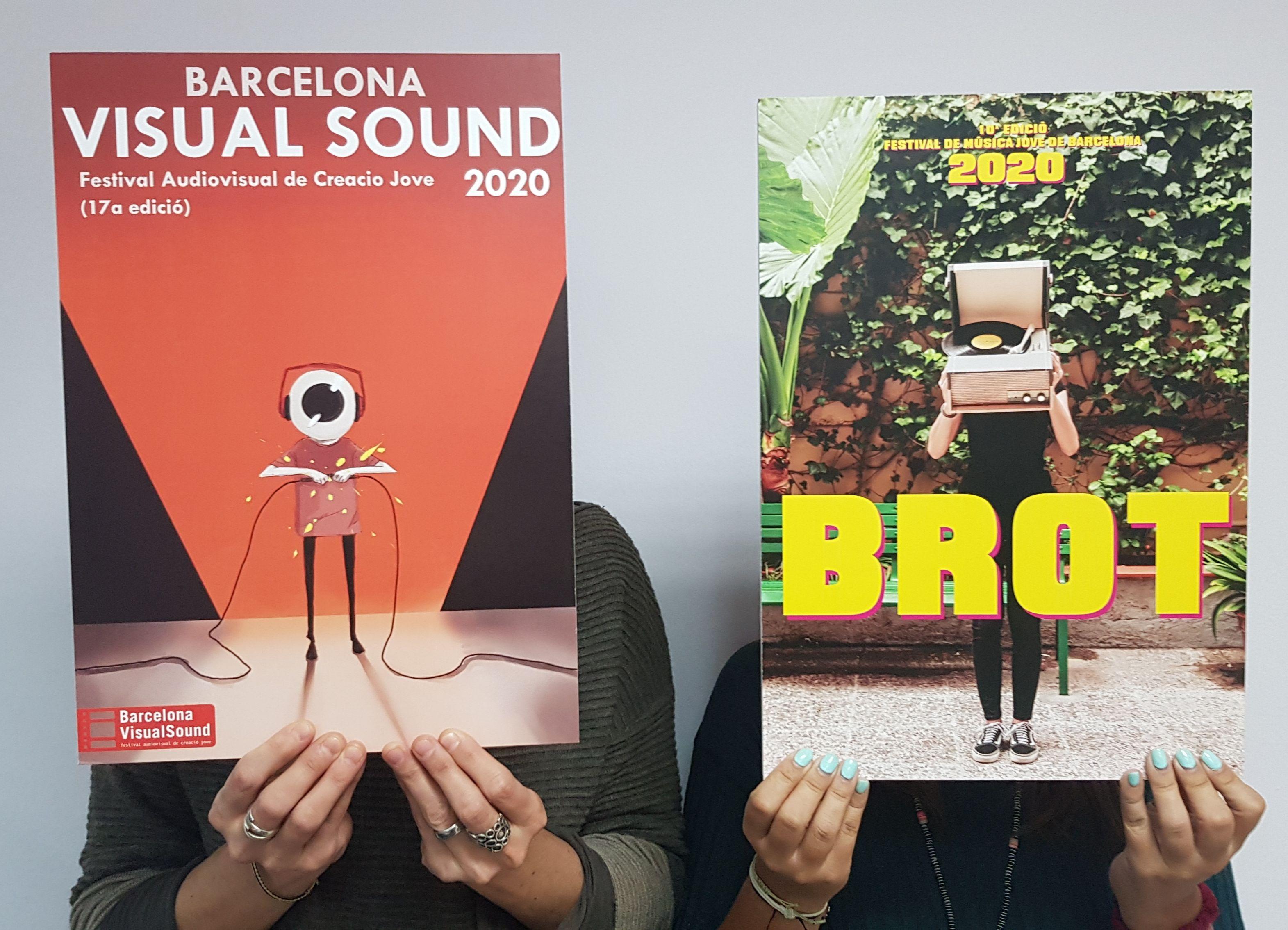 Concurs de cartells de Festivals - Obres guanyadores 2019