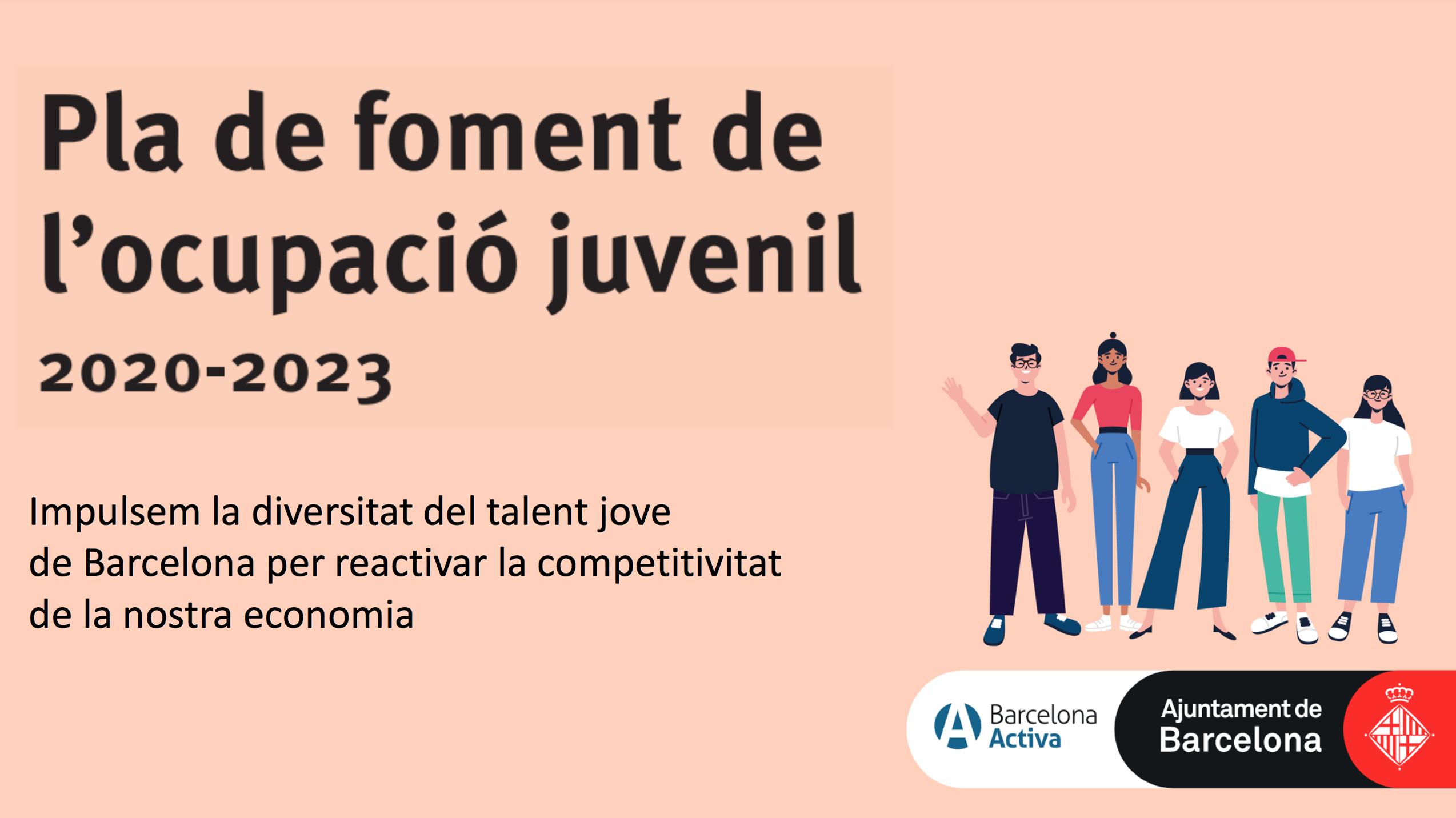 Plan de fomento del empleo juvenil 2020-2023 (Portada presentación)