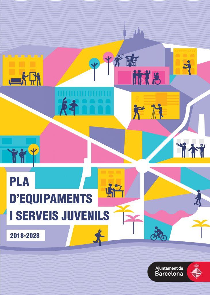 Portada Pla d'equipaments i serveis juvenils 2018-2028