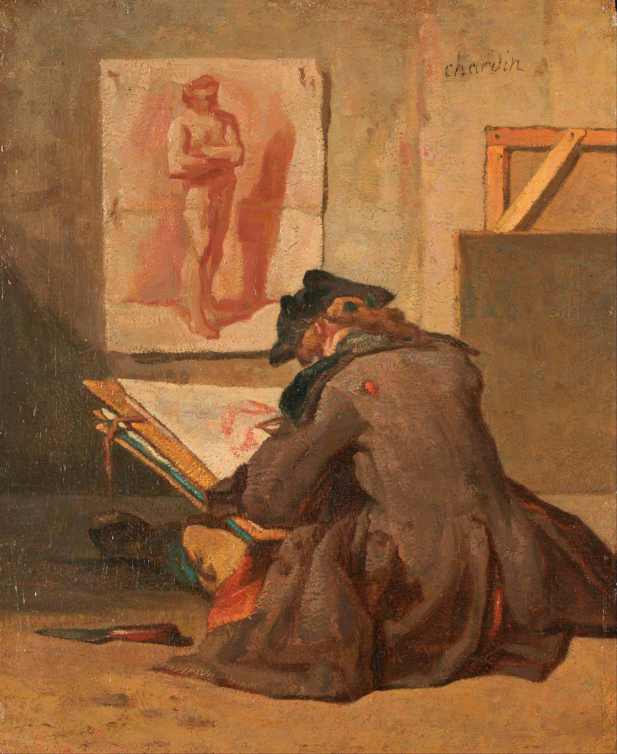 Jean Baptiste Siméon Chardin, The Young Draughtsman (1759)