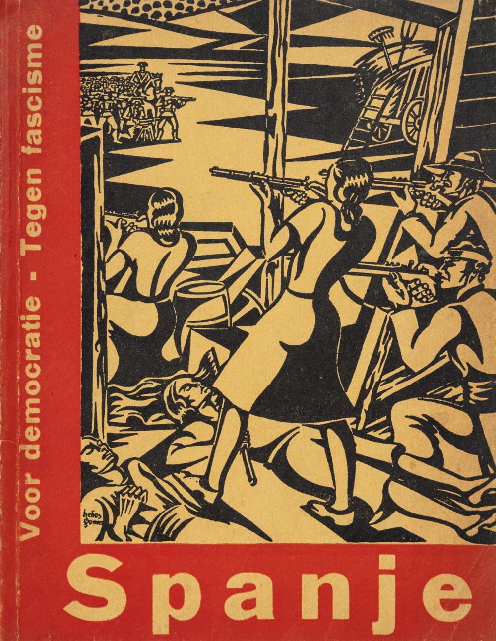 J. Bladergroen, «Spanje. Een volk vecht voor zijn vrijheid», Fundament, núm. 8 (Amsterdam, 1937)