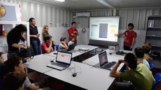 Aula del Adf, durante uno de los cursos