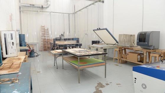 Espacio de impresoras y creación