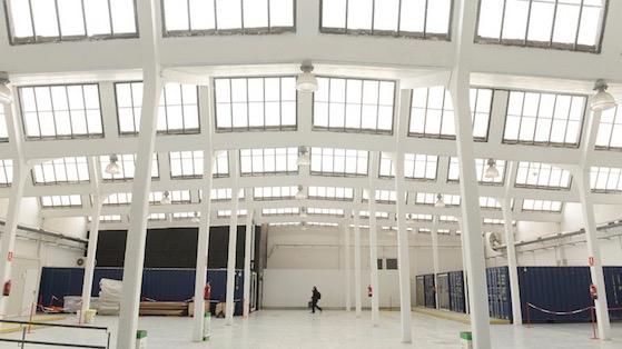 Interior del Ateneo de Fabricación digital de Les Corts