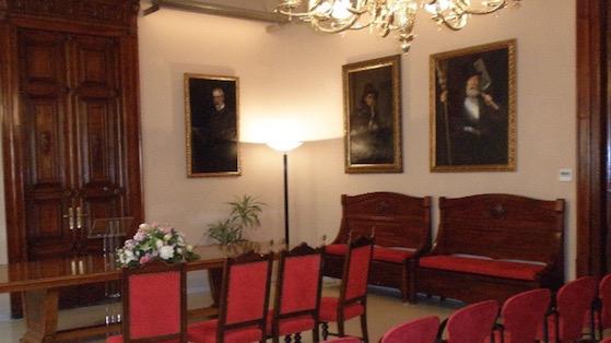 Saló del Consell de la Seu del Districte