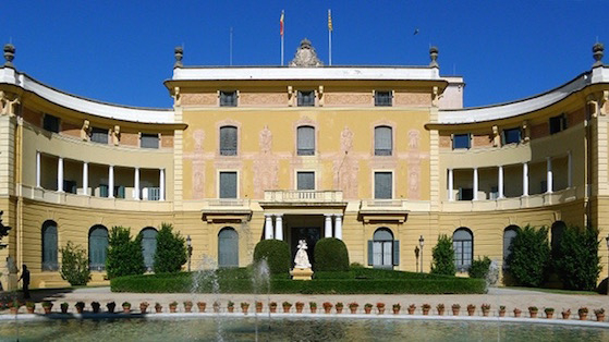 El palau de Pedralbes