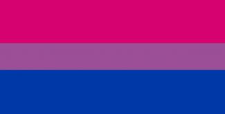 Bisexual pride image banner