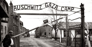 Photo of the Auschwitz-Birkenau